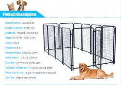 Dog kennel welded panels