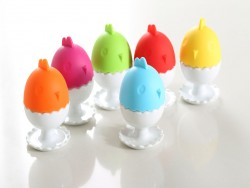 Porcelain Egg Cup with stay-warm silicone lid – 7D338
