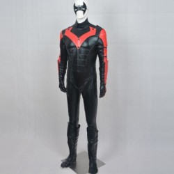 Batman Young Justice Nightwing Red Version Cosplay Costumes is sold at alicestyless.com