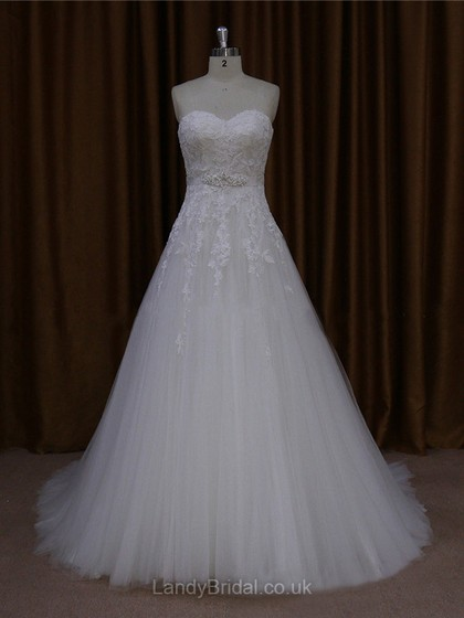 A-line Wedding Dresses UK, Memorize your Wedding with LandyBridal