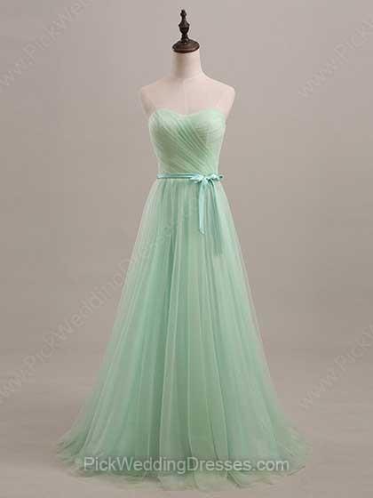 Amazing Green Bridesmaid Dresses | Dark Green, Sage Green, Apple Green Dresses, PWD