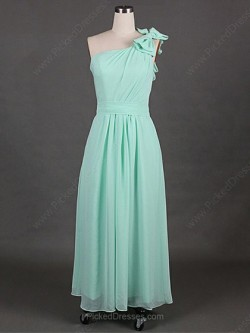 Green, Turquoise, Teal Bridesmaid Dresses Canada | Pickeddresses