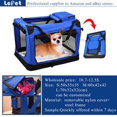 Manufacturer wholesale supply airline Soft-Sided Dog Carrier Pet Travel Bag dog carrier bag factory