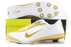 Men's Nike Shox R3 Shoes White/Gold U0LAA2,Shox,Jordans For Sale,Jordans For Cheap,Nike Ai ...
