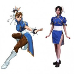 Alicestyless.com Street Fighter Chun Li Cosplay Costume