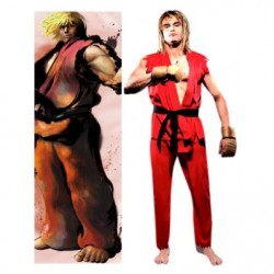Alicestyless.com Street Fighter Ken Cosplay Costume