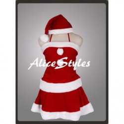 Alicestyless.com Vocaloid Meiko Christmas Cosplay Costume