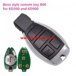 Benz style 3 button remote key