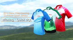 KANPAS breathable and quick dry orienteering jersey/OS-02