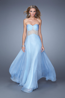 US$147.99 2015 Zipper Ruched White Sweetheart Floor Length Appliques Blue Sleeveless Chiffon