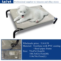 Elevated Chewproof Orthopedic Pet Bed Dog Camping Cot In/OutDoor