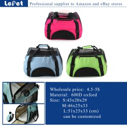 Pet accessories wholesale china cat carrier/cat cage pet bag/pet carrier airline/soft pet crate