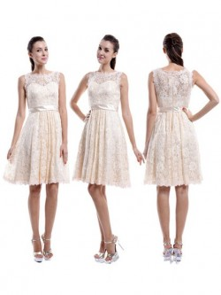 Champagne Coloured Bridesmaid Dresses UK   Dressfashion
