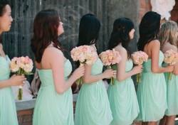 Green  Mint Green Bridesmaid dresses UK at Dressfashion.co.uk