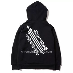 Three Long Cross Chrome Hearts Hoodies [Chrome Hearts Hoodies] – $155.00 : Cheap Chrome He ...