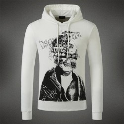 Dsquared2 Men DS07 Dean POP Sweatshirt White