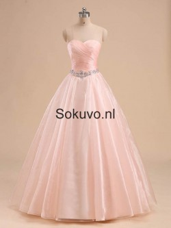 Liefje Empire Tulle Quinceanera Jurken – Sokuvo.NL