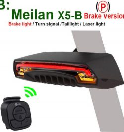 CMeilan Wireless Bike Rear Light