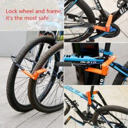 INBIKE Bicycle Lock Anti-cut – My Bicycle Store