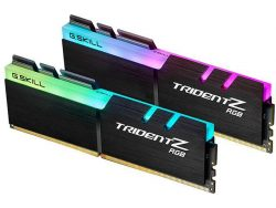 G.SKILL TridentZ RGB Series 16GB (2 x 8GB) 288-Pin DDR4 SDRAM DDR4 3200 (PC4 25600) Desktop Memo ...
