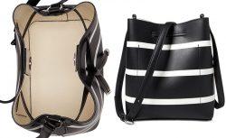 Lauren Ralph Lauren Striped Debby II Mini Drawstring Bag – Handbags & Accessories &#82 ...