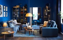Darker colors for a cozy cocoon – IKEA