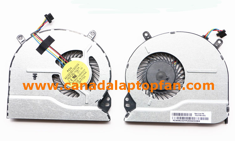 100% High Quality HP Pavilion Sleekbook 15-B055CA Laptop CPU Fan