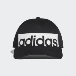 adidas Classic Five-Panel Linear Cap – Black | adidas Australia