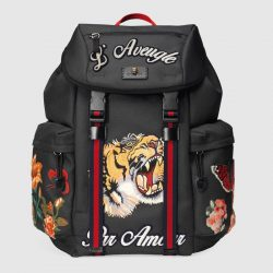 Backpack with embroidery – Gucci Men's Backpacks