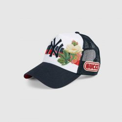 Baseball cap with NY Yankees™ patch – Gucci Men's Hats & Gloves