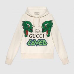 Cotton sweatshirt with tigers – Gucci Gifts for Men