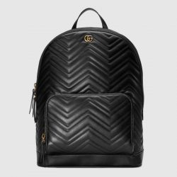 GG Marmont matelassé backpack – Gucci Men's Backpacks