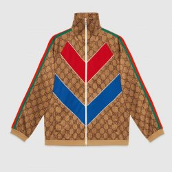 GG technical jersey jacket – Gucci Sweatshirts & Hoodies