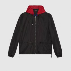 Gucci logo windbreaker – Gucci Outerwear & Leather Jackets