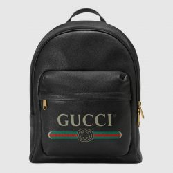 Gucci Print leather backpack – Gucci Men's Backpacks 5478340Y2BT8163
