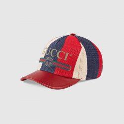 Gucci Print Sylvie baseball hat – Gucci Men's Hats & Gloves