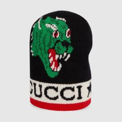Hat with panther and Kingsnake – Gucci Men's Hats & Gloves