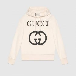 Hooded sweatshirt with Interlocking G – Gucci Hoodies