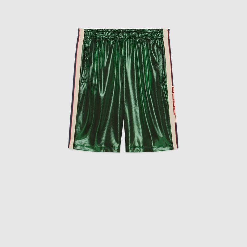 Laminated jersey shorts – Gucci Gifts for Men
