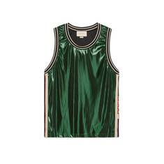 Laminated jersey tank – Gucci Men's T-shirts & Polos
