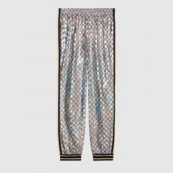 Laminated sparkling GG jersey jogging pant – Gucci Gifts for Men
