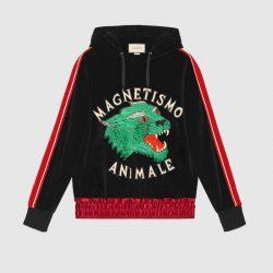 Magnetismo Animale chenille sweatshirt – Gucci Sweatshirts & Hoodies