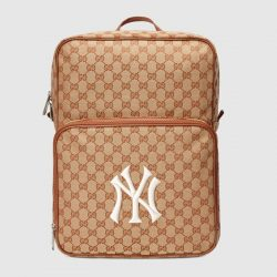 Medium backpack with NY Yankees™ patch – Gucci Men's Backpacks