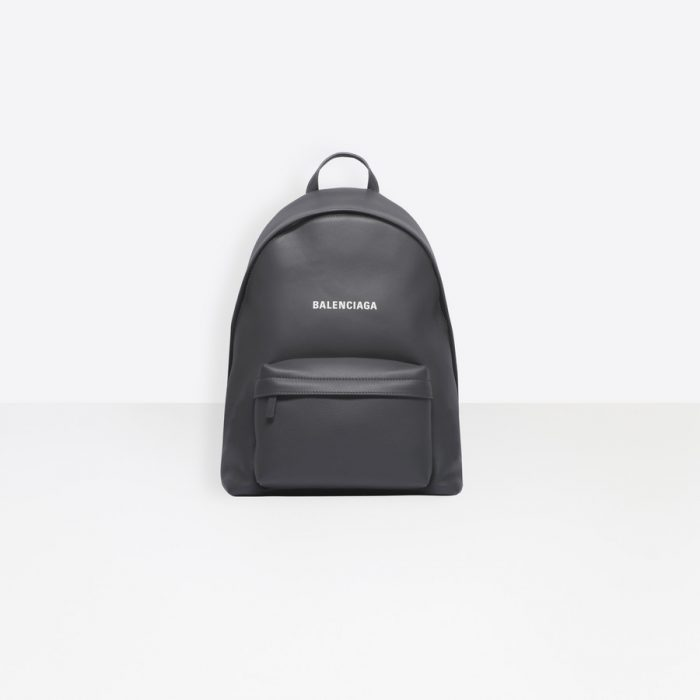 ‎Men‎'s ‎ANTHRACITE / WHITE ‎ ‎Everyday Backpack ‎ | Balenciaga
