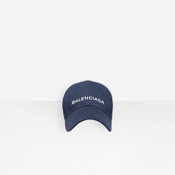 Men's BLUE / WHITE  Balenciaga Cap  | Balenciaga