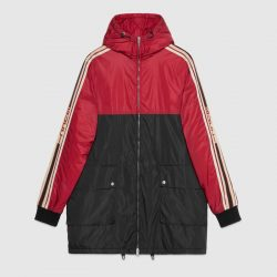 Nylon coat with Gucci stripe – Gucci Gifts for Men
