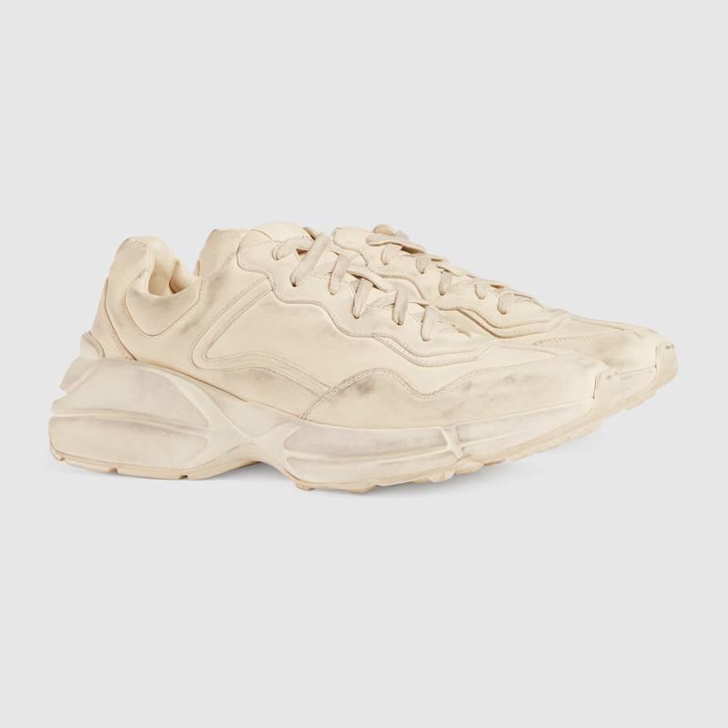 Rhyton leather sneaker – Gucci Men's Sneakers