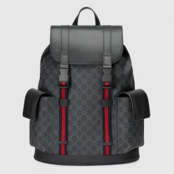 Soft GG Supreme backpack – Gucci Men's Backpacks