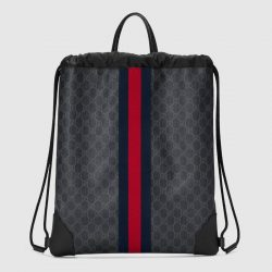 Soft GG Supreme drawstring backpack – Gucci Men's Backpacks