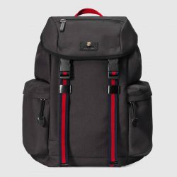 Techno canvas backpack – Gucci Men's Backpacks 429037K1N1X1072